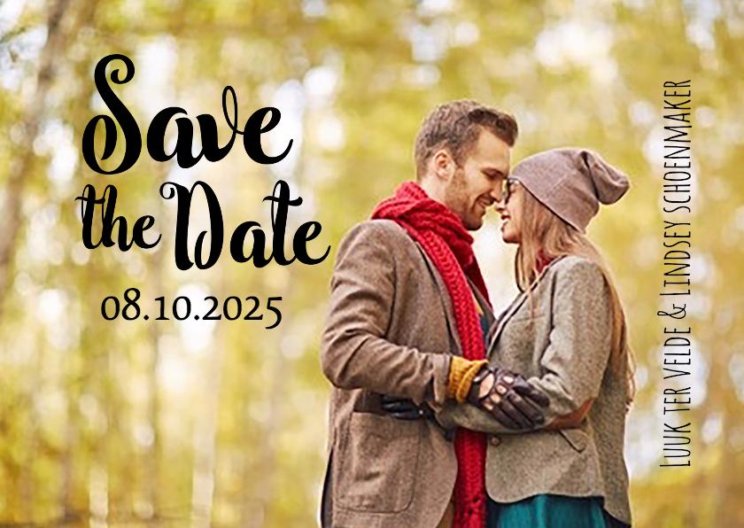 originele save the date kaartjes
