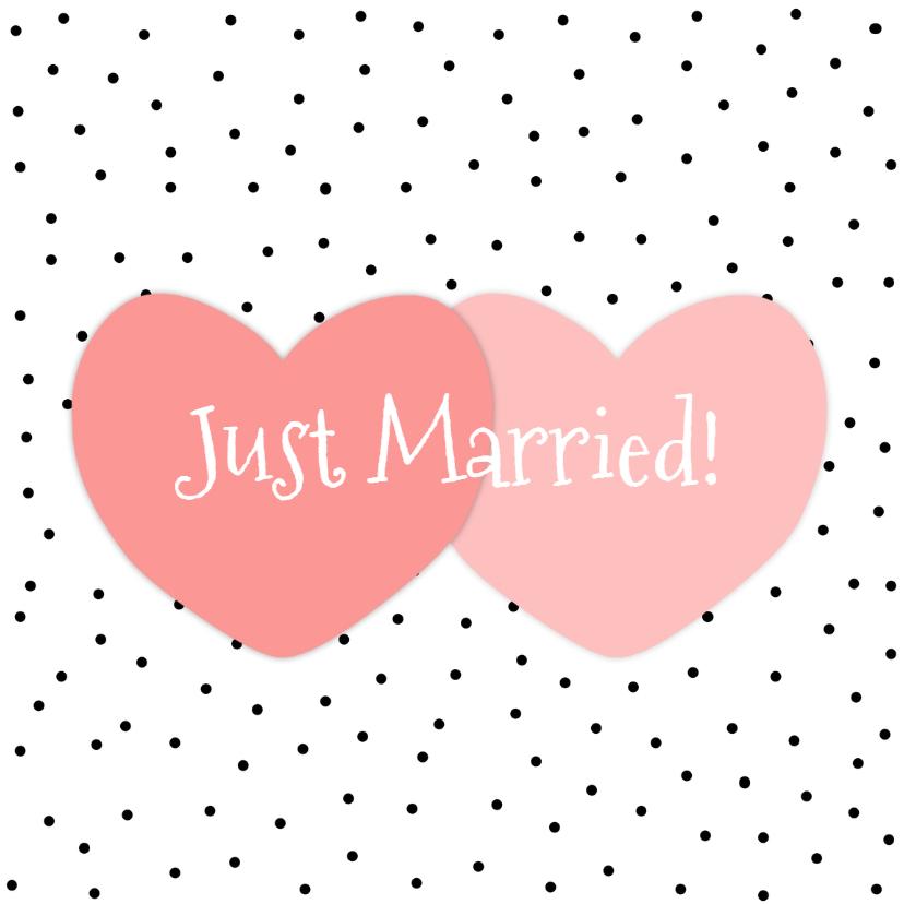 huwelijksfelicitatiekaart