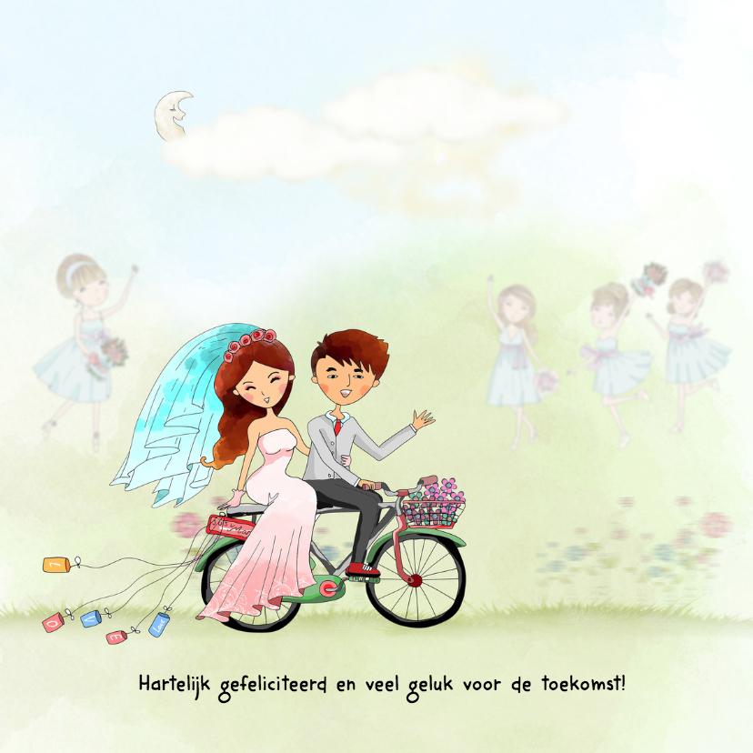 gelukwensen huwelijk