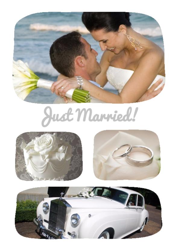 pas getrouwd