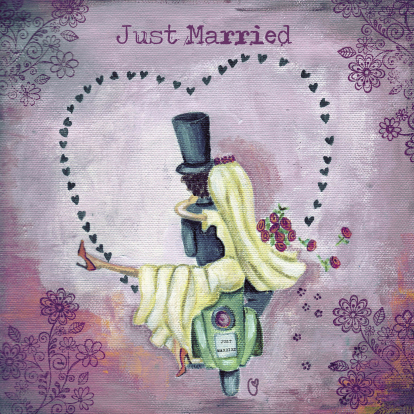 just-married-illustratie-cartita-design
