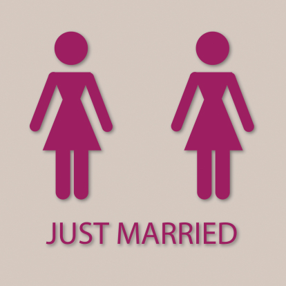 just-married-women