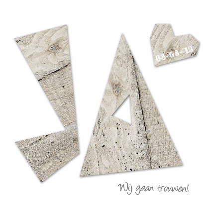 moderne-trouwkaart-houten-hart