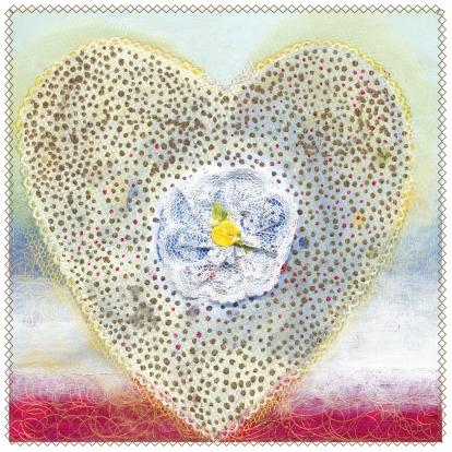 stijlvolle-trouwkaart-hart-roosje