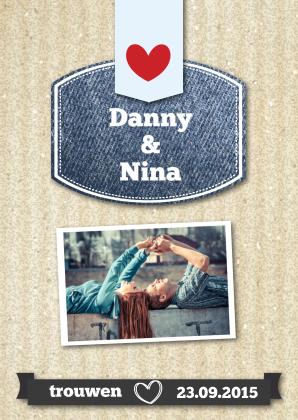 trouwkaart-danny-en-nina---staand