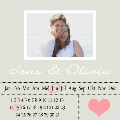 trouwkaart-datum