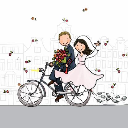 trouwkaart-fiets-blikjes-blond