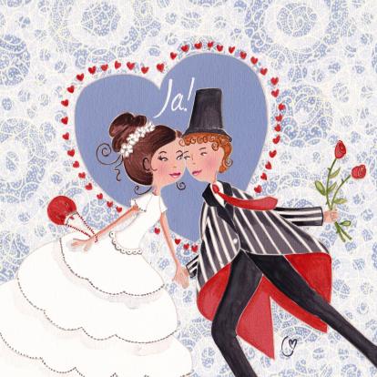 trouwkaart-huwelijk-illustratie-ja