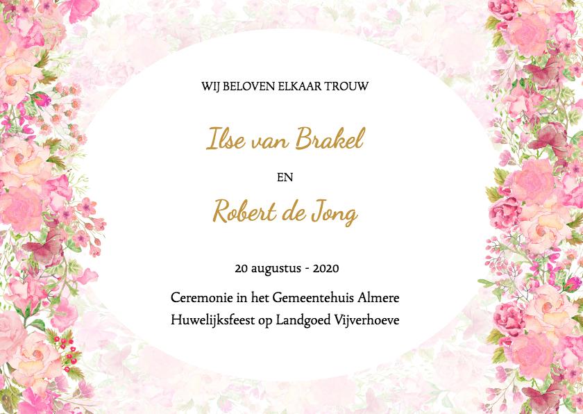 Formele bruiloft uitnodiging wat zijn de etiquette