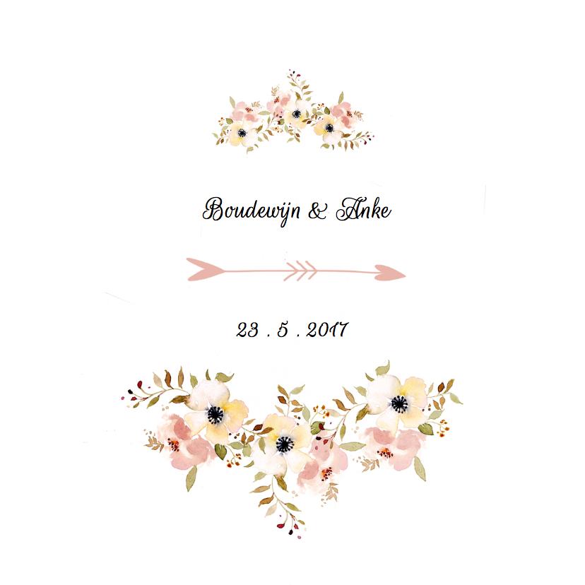 dresscode op trouwkaart